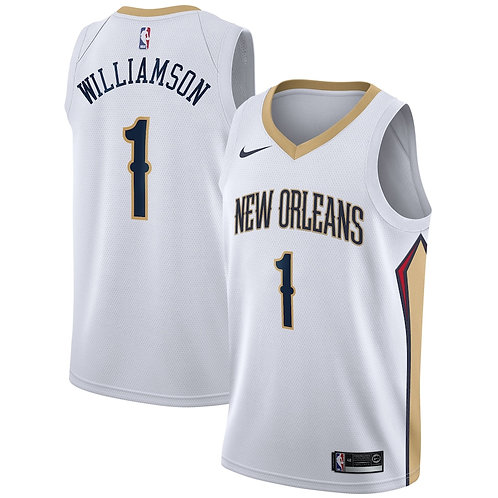 New Orleans Pelicans Williamson #1 association jersey