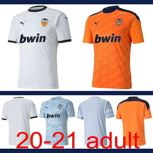 Valencia 2020/21 jersey