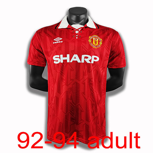 Man United 1992/94 home jersey
