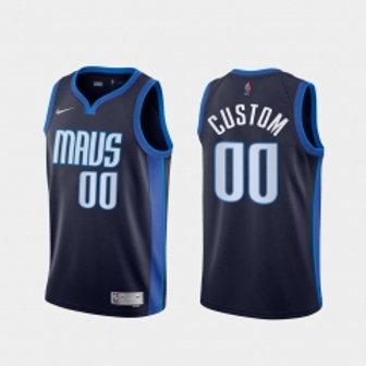 Dallas Mavericks heatpressed Earned jersey