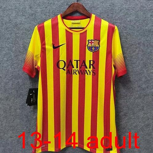 Barcelona 2013/14 away jersey