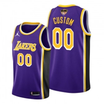 Los Angeles Lakers heatpressed Statement jersey