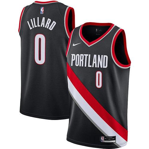 Portland Trail Blazers Lillard #0 Icon jersey