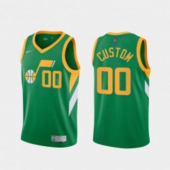 Utah Jazz heatpressed Earned jersey