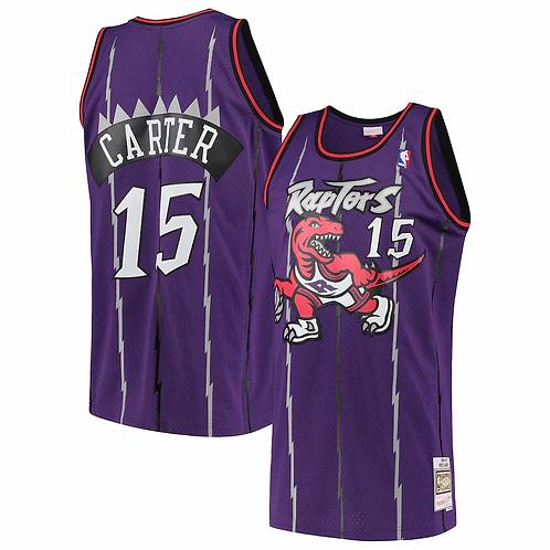 Raptors 1997/98 classic jersey (Purple Carter 15)