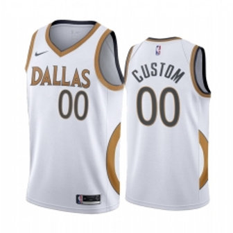 Dallas Mavericks heatpressed City jersey