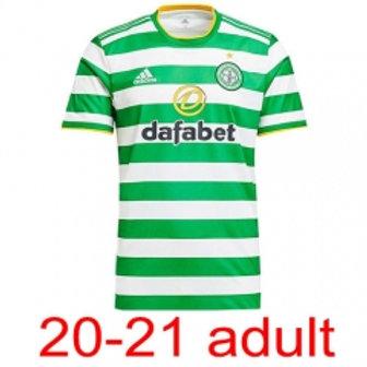 Celtic jersey 2020/21