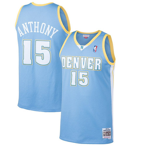 Nuggets 2003/2004 classic jersey (Blue Anthony 15)