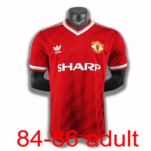 Man United 1984/86 home jersey
