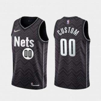 Brooklyn Nets heatpressed Earned jersey
