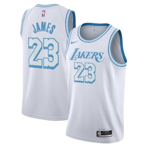 Los Angeles Lakers City jersey James 23