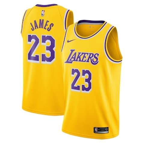 Los Angeles Lakers icon jersey James 23