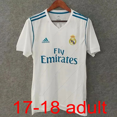 Real Madrid 2017/18 home Jersey
