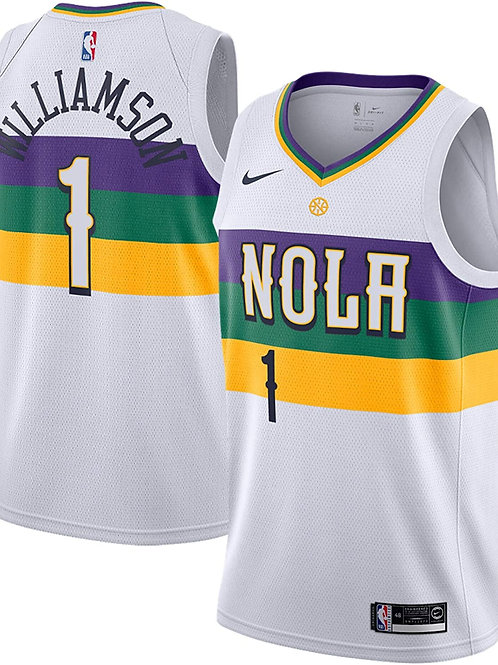 New Orleans Pelicans Williamson #1 city jersey