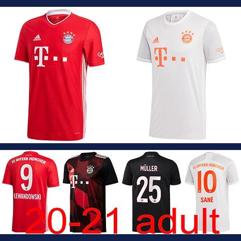 Bayern Munich 2020/21 Jersey