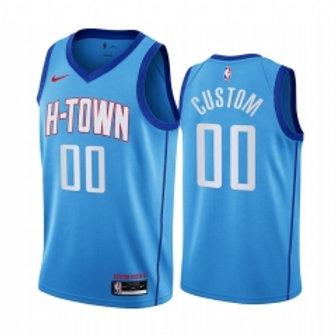 Houston Rockets heatpressed City jersey