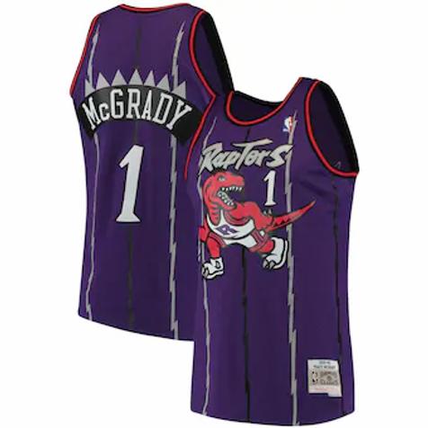 Toronto Raptors 1997 throwback McGrady #1