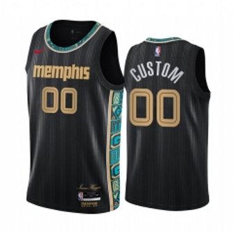 Memphis Grizzlies heatpressed City jersey
