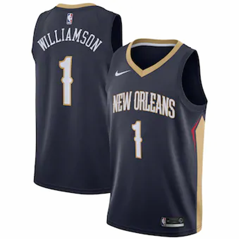 New Orleans Pelicans Williamson #1 Icon jersey