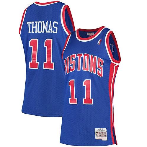 Pistons 1989/90 classic jersey (Blue Thomas 11)