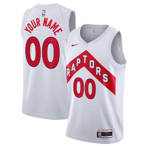 Toronto Raptors heatpressed Association jersey
