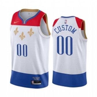 New Orleans heatpressed City jersey