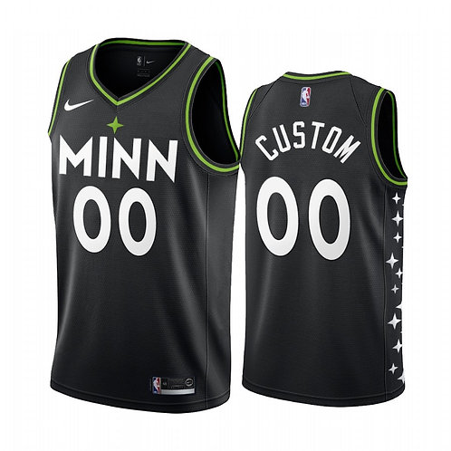 Minesota Timberwolves Heatpressed City Jersey