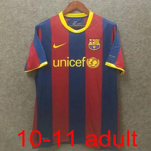 Barcelona 2010/11 home jersey