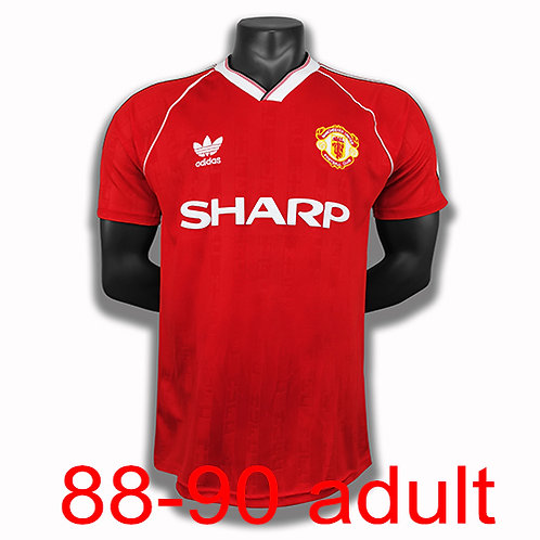 Man United 1988/90 home jersey