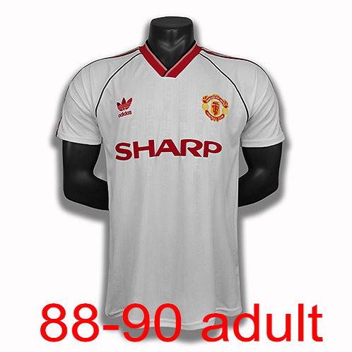 Man United 1988/90 away jersey
