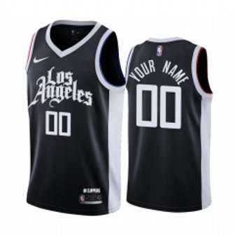 Los Angeles Clippers heatpressed City jersey