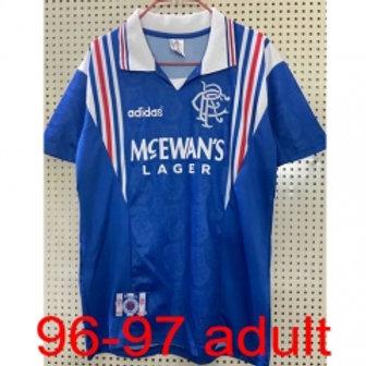 Rangers 1996/97 jersey
