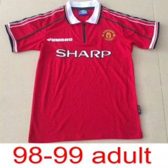 Man United 98-99 jersey