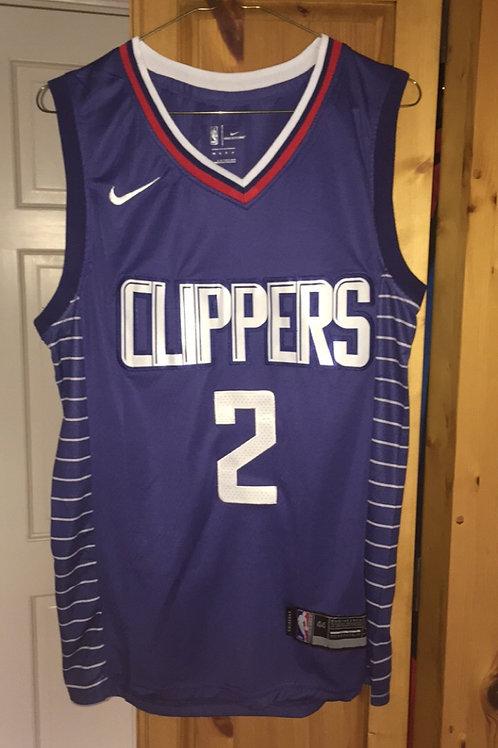 La Clippers Kawai Leonard #2  Home Jersey