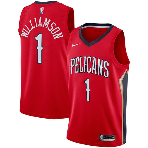 New Orleans Pelicans Williamson #1 Statement jersey