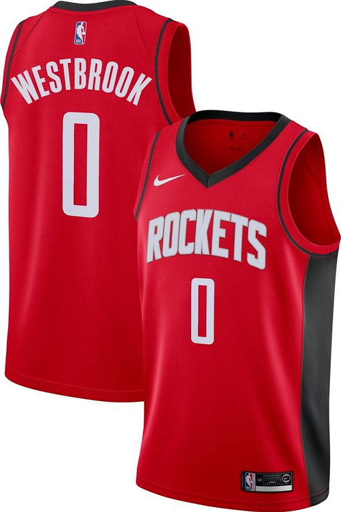 Houston Rockets Westbrook #0 Icon edition