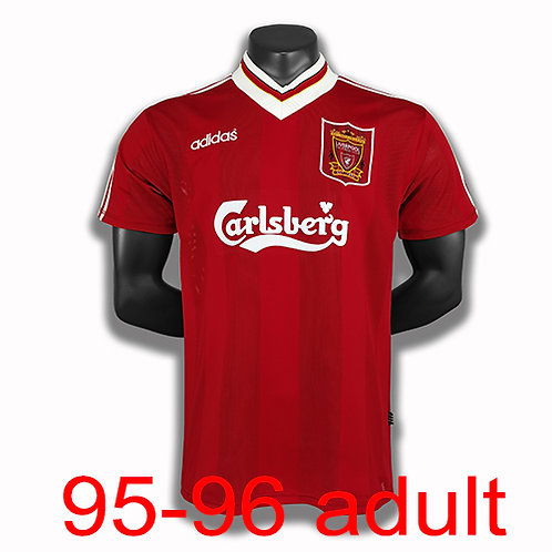 Liverpool 1995/96 home jersey
