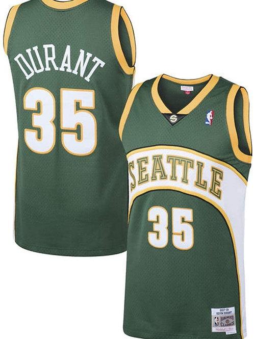 Supersonics 2006/2007 classic jersey (Green Durant 35)