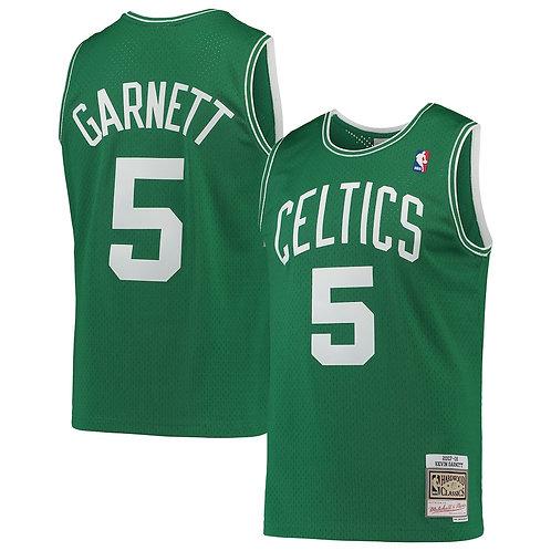 Celtics 2007/2008 classic jersey (Green Garnett 5)
