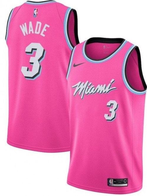 Miami Heat Wade #3 Earned jersey