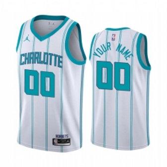 Charlotte Hornets heatpressed association jersey
