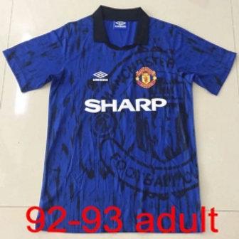 Man United 1992/93 Away jersey
