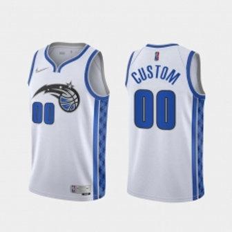 Orlando Magic heatpressed Earned jersey