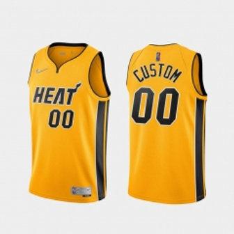 Miami Heat heatpressed Earned jersey