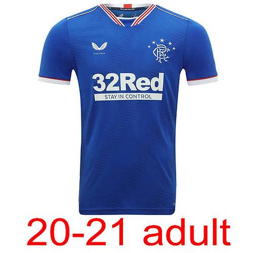Rangers 2020/21 jersey