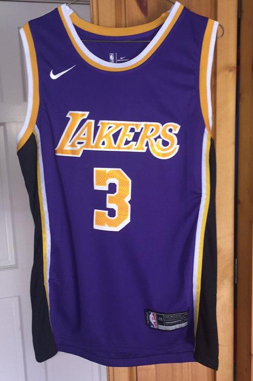 LA Lakers Anthony Davis #3 Away jersey