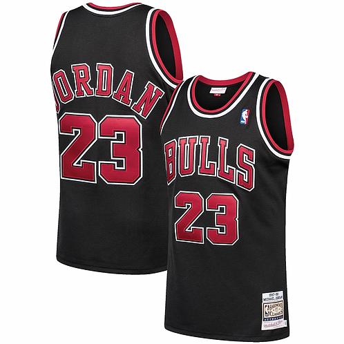 Bulls 1996/97 classic jersey (Black Jordan 23)