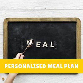 Personalised meal plan BBDiet