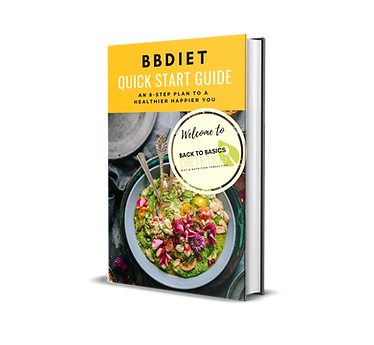 BBDIET QUICK START GUIDE - 8-STEP PLAN T