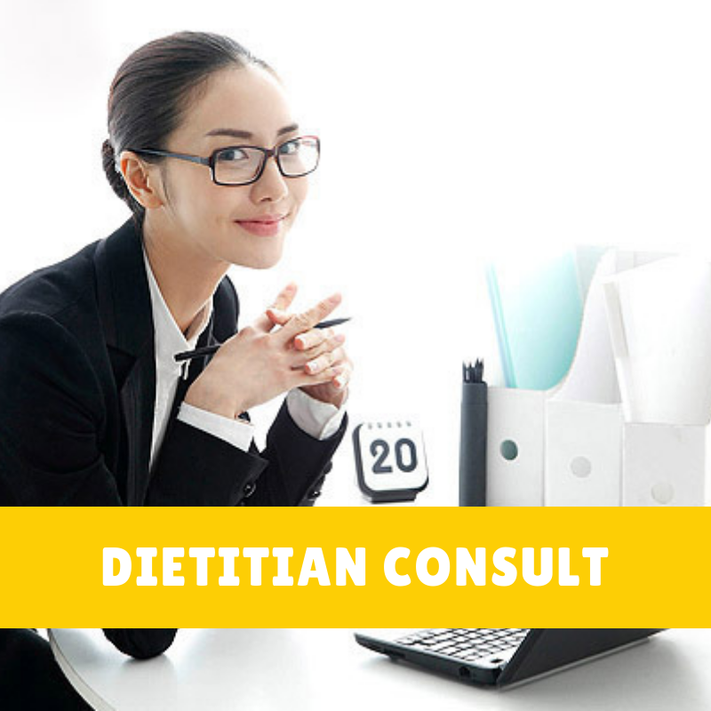 dietitian consultation and personalised nutrition plan